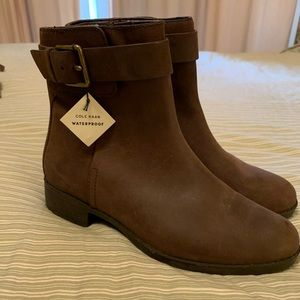Cole Haan Waterproof Ankle Boots